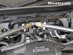 Beatrush Type-2 Front Tower Bars - Subaru BRZ & Scion FR-S