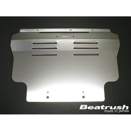 Beatrush Aluminum UnderPanel - Honda Fit GE8 and Honda CR-Z