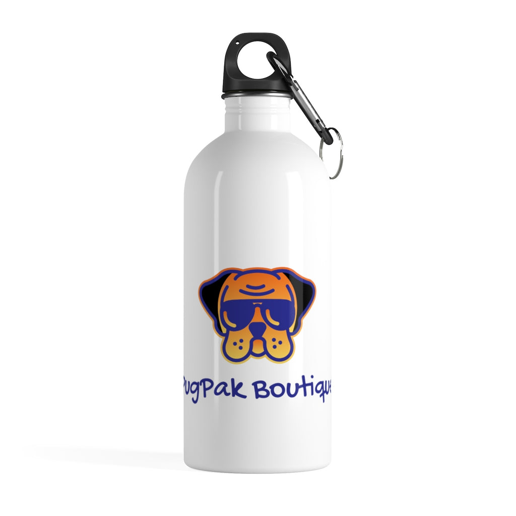 PugPak Stainless Steel Water Bottle