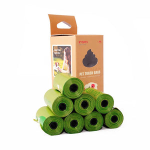 Compostable Dog Poop Bags Cornstarch Earth Friendly 120 Counts