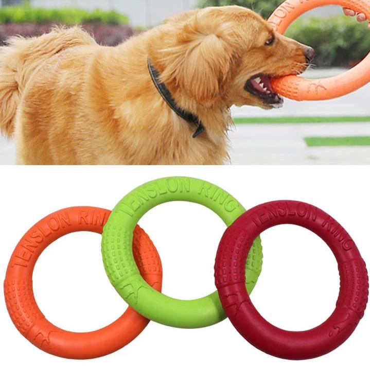 Flying Discs Pet toy Interactive Training Ring