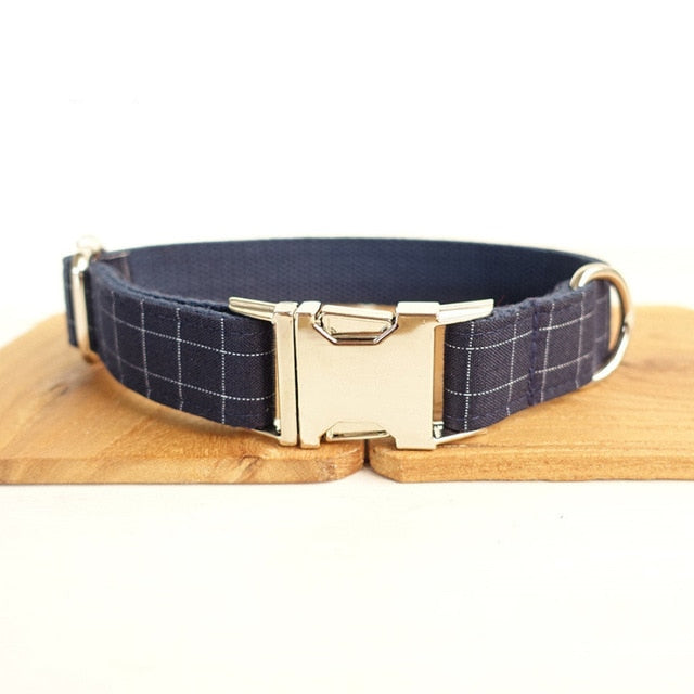 Dog Collar with Bowtie Adjustable Small Medium Large
