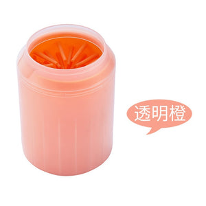 Dog Paw Cleaner Cup Soft Silicone Combs