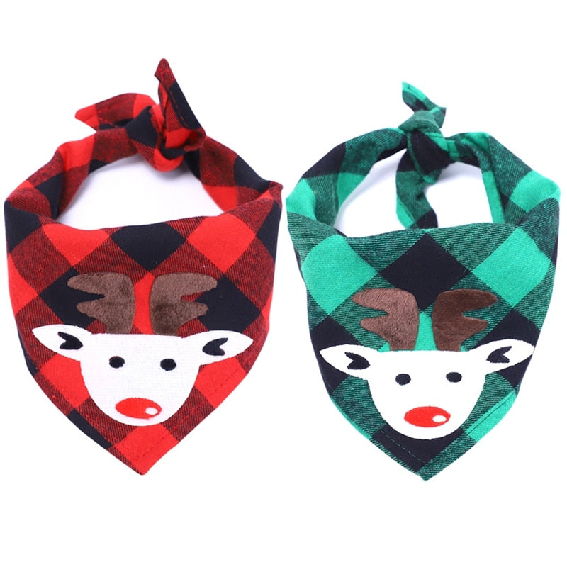 2019 New Hot Christmas Pet Dog Bandana