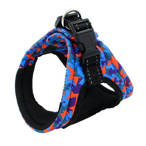 Harness For Chihuahua Pug Small Medium Dogs Printed Puppy Cat Walking Harnesses Vest Pet Products