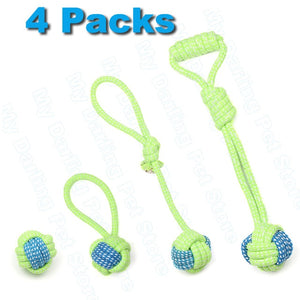 7 Pack of Dog Toys for Large and small Dogs