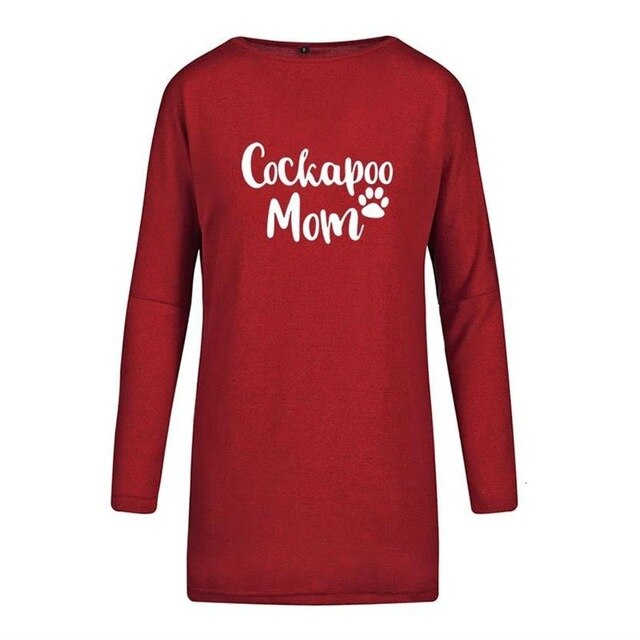 Cockapoo Mom Tee Shirt