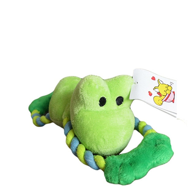Plush Squeaky Chew Toy