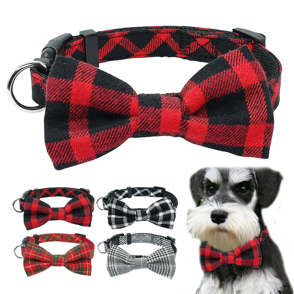 Fashion Bowtie Dog Collar Gentleman Bowknot