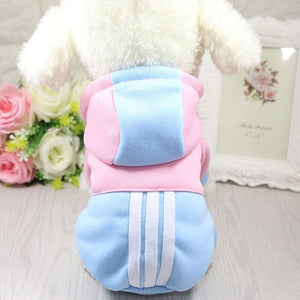 Dog Clothes Winter Soft Hoodie Clothes