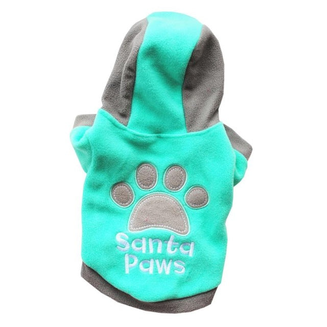 Winter Casual Dog Clothes Warm Jacket  4 Colors XS S M L XL