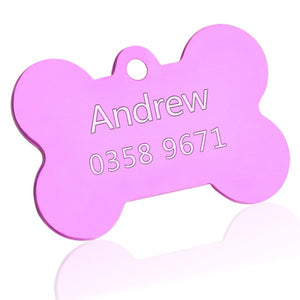Customized Dog or Cat ID Tag