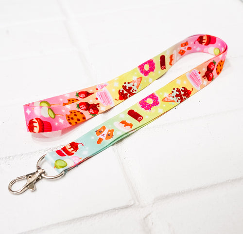 Sweet Treats Lanyard