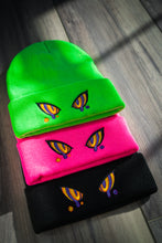 Load image into Gallery viewer, Embroidered Hypno Beanie