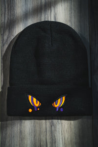 Embroidered Hypno Beanie