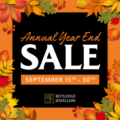 Annual Year End Sale - September 15th - 30th, 2020