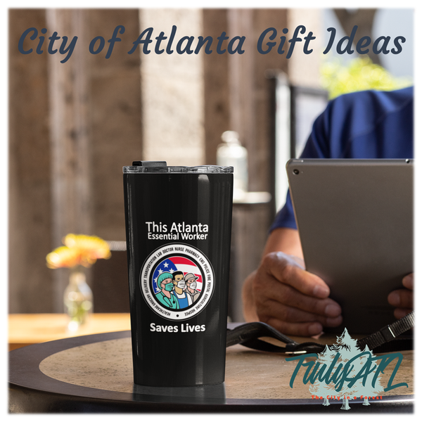 Atlanta Essential Worker Stainless Steel Tumbler