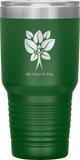 BE-YOU-TI-FUL Tree Stainless Steel Tumbler - 30-Ounce