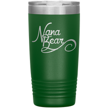 Load image into Gallery viewer, Nana Bear Stainless-Steel Tumbler Green