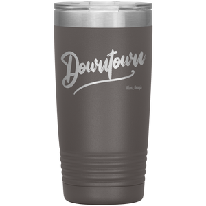 Downtown Atlanta Georgia Tumbler Pewter