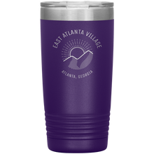 Load image into Gallery viewer, East Atlanta Village Tumbler Purple