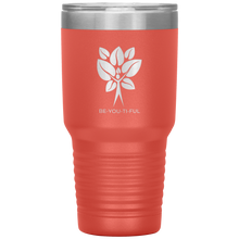 Load image into Gallery viewer, Be-You-Ti-Ful Tree Stainless Steel Tumbler Coral