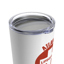 Load image into Gallery viewer, Atlanta Lifeguard Tumbler Lid On