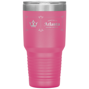 Atlanta Downtown Connector Tumbler Pink