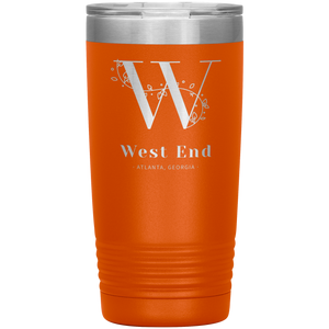 West End Atlanta Tumbler Orange