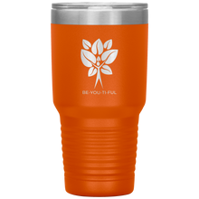 Load image into Gallery viewer, Be-You-Ti-Ful Tree Stainless Steel Tumbler Orange