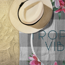 Load image into Gallery viewer, Tropical Vibes Beach Towel Display