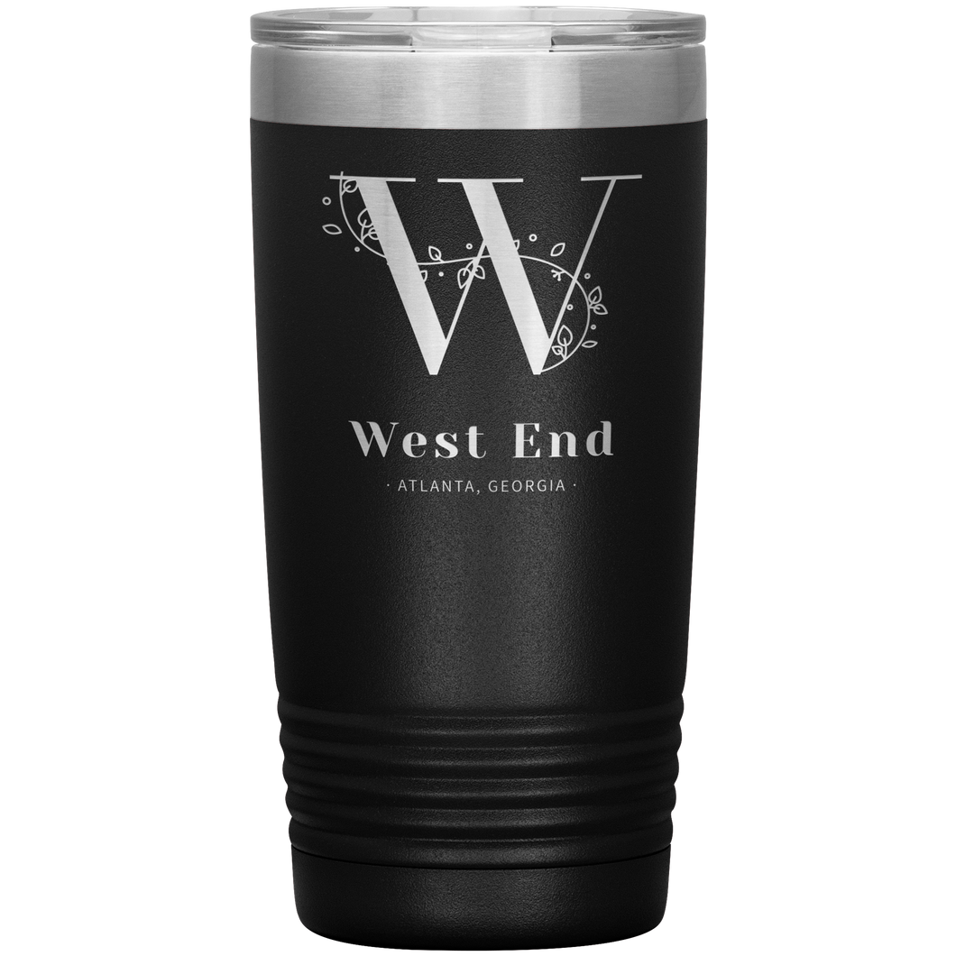 West End Atlanta Tumbler Black