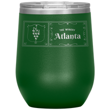 Load image into Gallery viewer, The Winery Atlanta Wine Tumbler Green