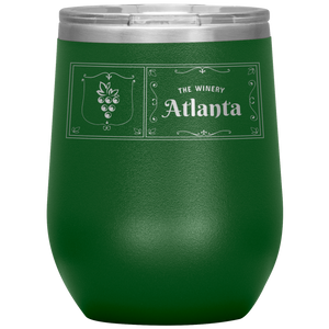 The Winery Atlanta Wine Tumbler Green