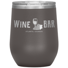 Load image into Gallery viewer, Wine Bar Atlanta Tumbler Pewter