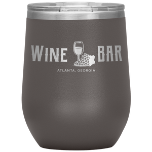 Wine Bar Atlanta Tumbler Pewter