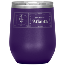 Load image into Gallery viewer, The Winery Atlanta Wine Tumbler Purple