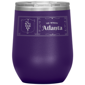 The Winery Atlanta Wine Tumbler Purple