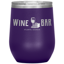 Load image into Gallery viewer, Wine Bar Atlanta Tumbler Purple