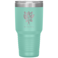 Load image into Gallery viewer, Be-You-Ti-Ful Tree Stainless Steel Tumbler Teal
