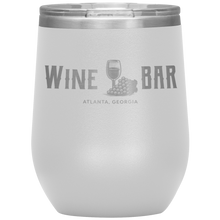 Load image into Gallery viewer, Wine Bar Atlanta Tumbler White