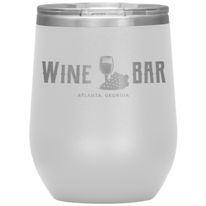 Wine Bar Atlanta Tumbler White
