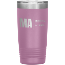 Load image into Gallery viewer, Midtown Atlanta Tumbler Light Purple