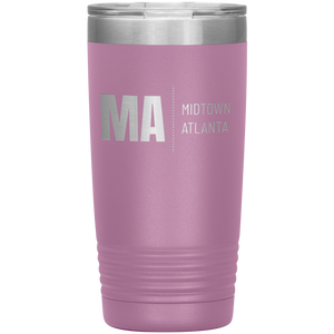 Midtown Atlanta Tumbler Light Purple