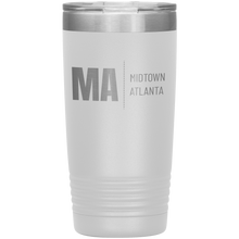 Load image into Gallery viewer, Midtown Atlanta Tumbler White