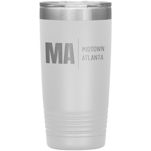 Midtown Atlanta Tumbler White