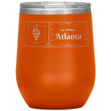 Load image into Gallery viewer, The Winery Atlanta Wine Tumbler Orange