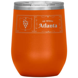 The Winery Atlanta Wine Tumbler Orange
