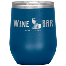 Load image into Gallery viewer, Wine Bar Atlanta Tumbler Blue