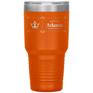 Atlanta Downtown Connector Tumbler Orange